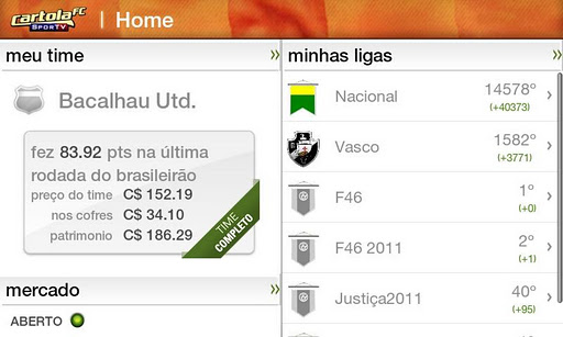CartolaFC - Imagem 2 do software