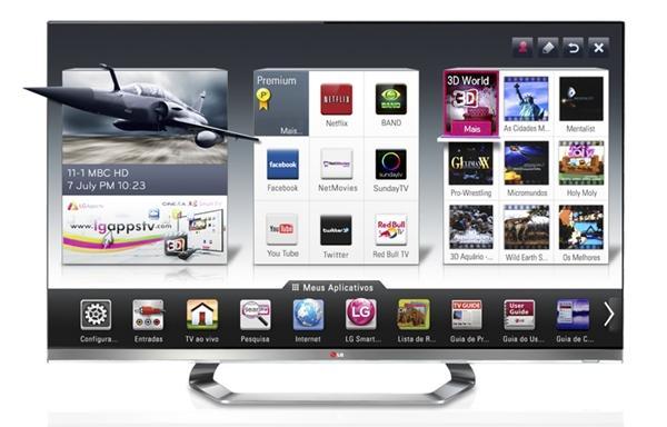 b52693e28 Análise  LG Smart TV Cinema 3D de 47 polegadas (LM8600) - Ficha ...