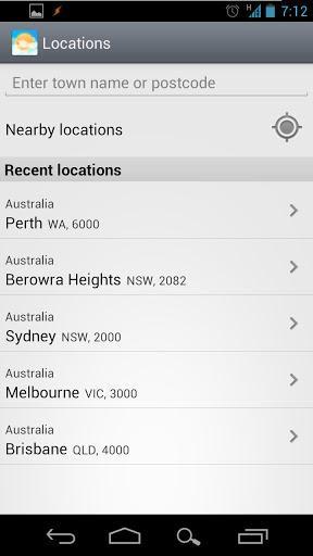 Weatherzone - Imagem 2 do software