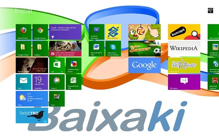 Windows 8 Start Screen Customizer.