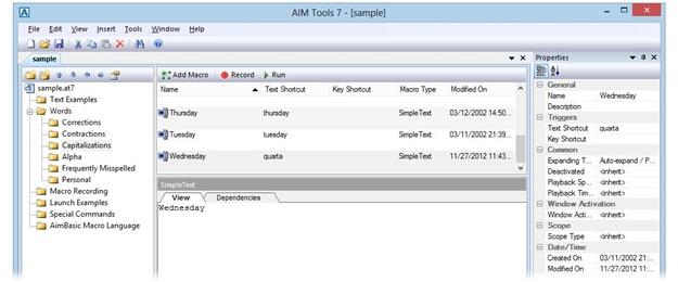 AIM Tools - Imagem 1 do software