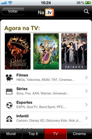 NaTV - Imagem 1 do software