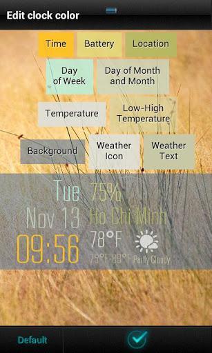 Beautiful Clock Widgets - Imagem 1 do software