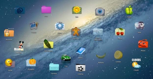 Personalizando vários ícones