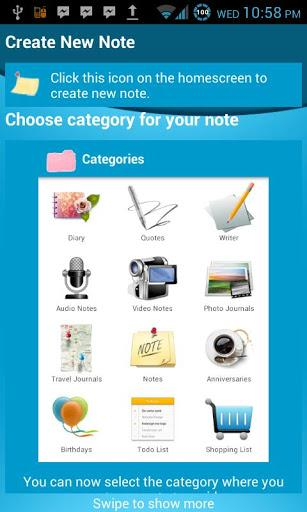 O2 Note - Imagem 2 do software