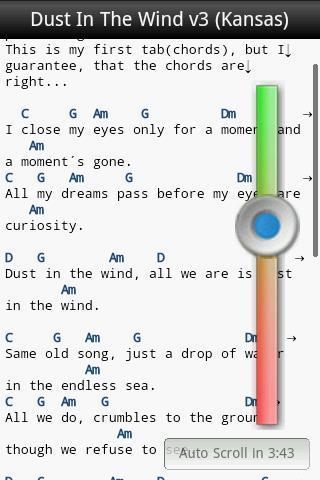 GuitarTapp Tabs & Chords Trial - Imagem 2 do software