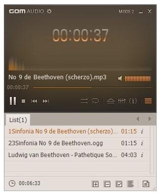 GOM Audio.