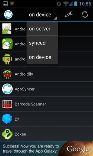 AppSyncer - Imagem 1 do software