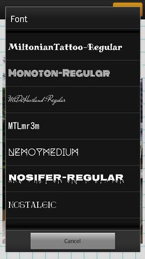 Phonto - Texto em Imagem - Imagem 2 do software