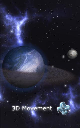 GyroSpace 3D Live Wallpaper - Imagem 1 do software