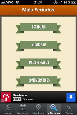 Feriados 2013 - Imagem 1 do software