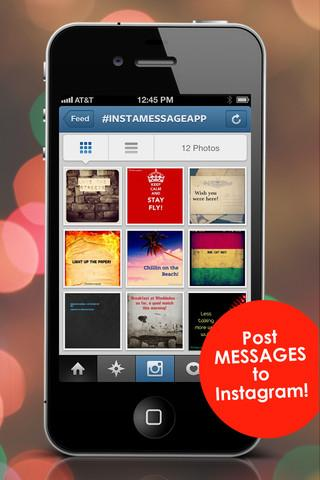 InstaMessage - Post Text Messages on Instagram - Imagem 1 do software