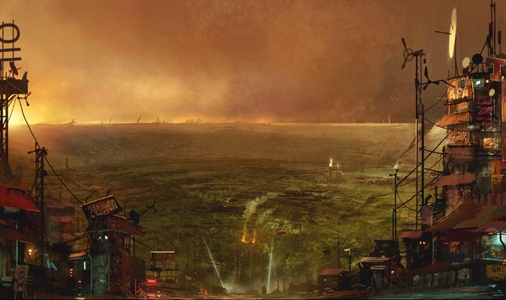 Kratos - mundo depois do apocalipse