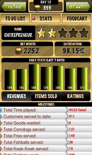 Streetfood Tycoon - Imagem 2 do software