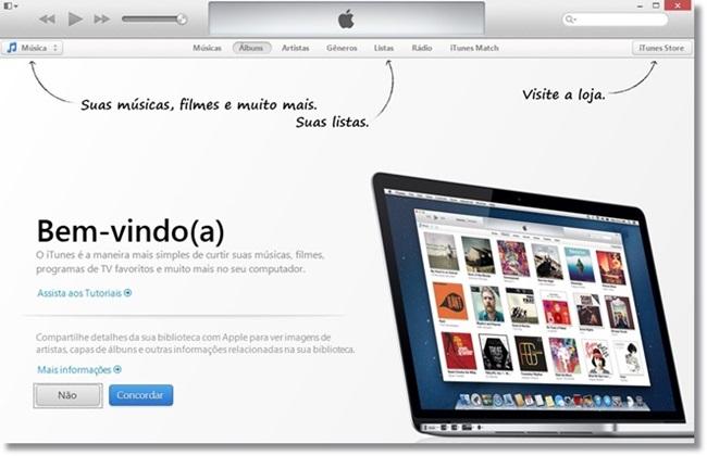 iTunes Download para Windows em Português Grátis