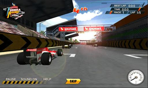 Kingfisher Formula Race - Imagem 1 do software