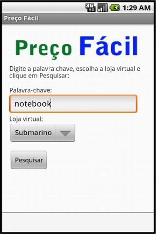 Preço Fácil - Imagem 1 do software