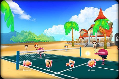 3D Badminton II - Imagem 1 do software