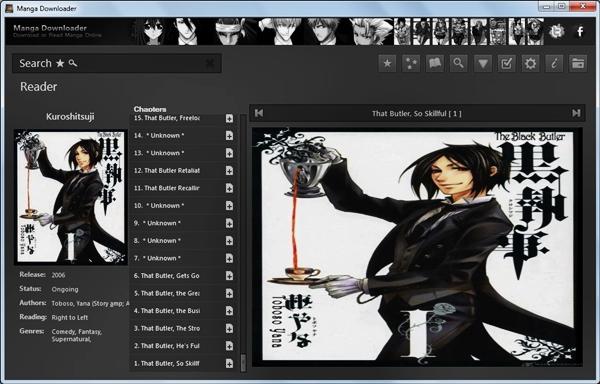 Manga Downloader.