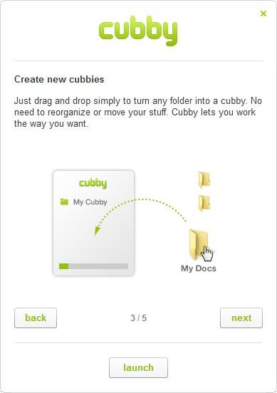 Cubby - Imagem 1 do software
