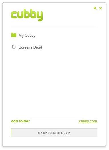 Cubby - Imagem 3 do software