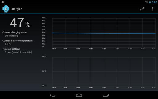 Energize - Battery Monitor - Imagem 1 do software