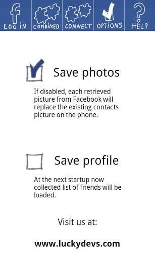Facebook PhotoSync - Imagem 1 do software