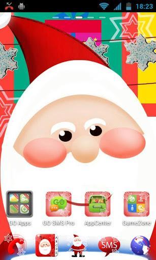 GO Launcher EX Papai Noel - Imagem 1 do software