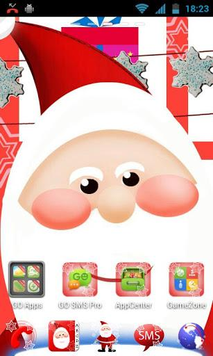 GO Launcher EX Papai Noel - Imagem 2 do software