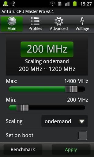 AnTuTu CPU Master Pro - Imagem 1 do software