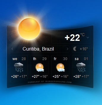 Ticno Weather - Imagem 2 do software