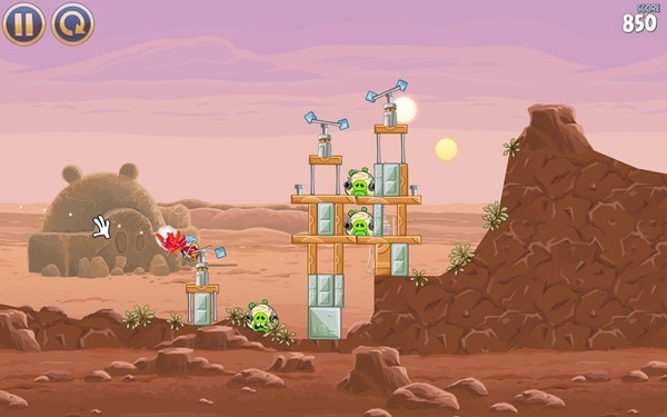 Angry Birds Star Wars.