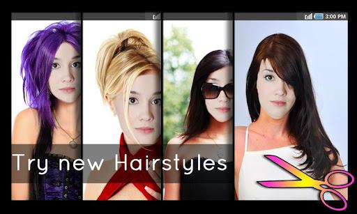 Hairstyles - Fun and Fashion - Imagem 1 do software