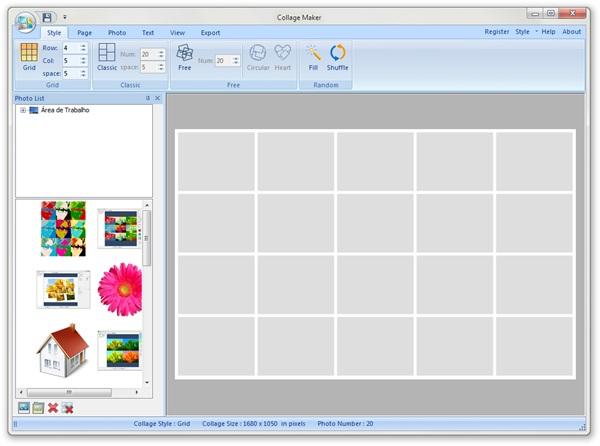 Softease Collage Maker - Imagem 1 do software