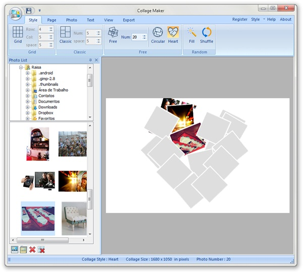 Softease Collage Maker - Imagem 2 do software