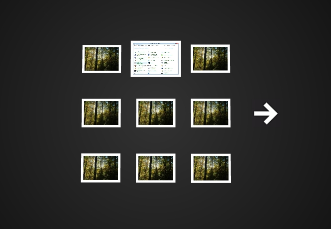 Visualização do aplicativo em funcionamento