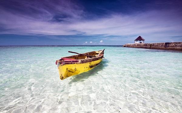 Toda a beleza do Caribe