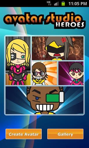 Avatar Studio Heroes Free - Imagem 1 do software