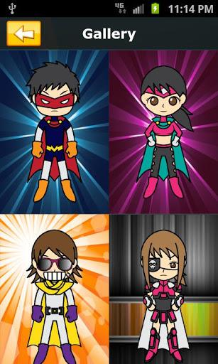 Avatar Studio Heroes Free - Imagem 2 do software