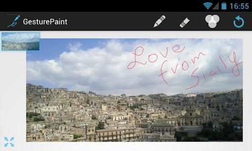 Gesture Paint PRO - Imagem 2 do software