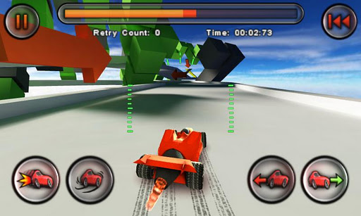 Jet Car Stunts Lite - Imagem 1 do software