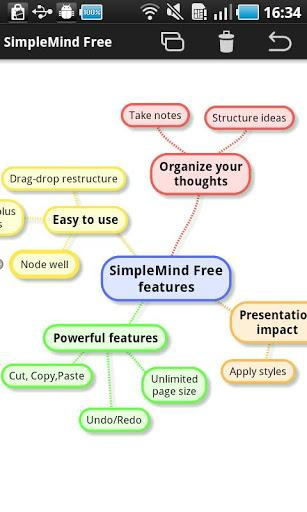 SimpleMind Free mind mapping - Imagem 2 do software