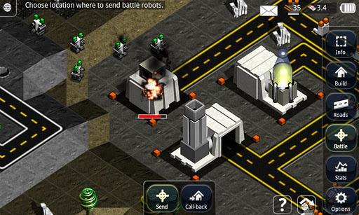 Robotic Planet RTS Lite - Imagem 1 do software