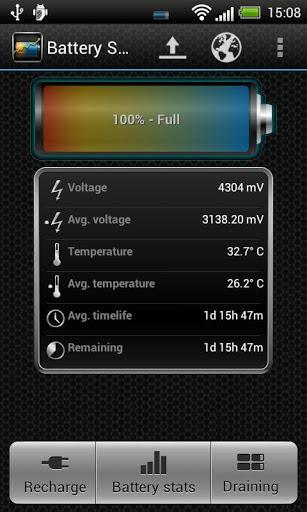 Battery Stats Plus - Imagem 1 do software