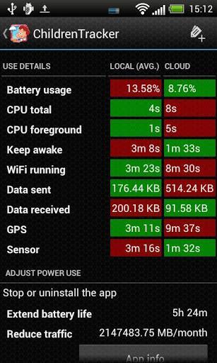 Battery Stats Plus - Imagem 2 do software