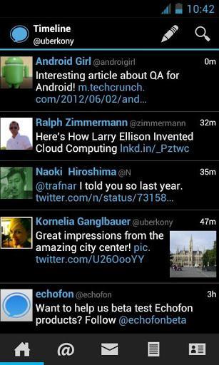 Echofon for Twitter (Beta) - Imagem 1 do software