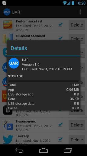 Useless Apps Remover - Imagem 2 do software