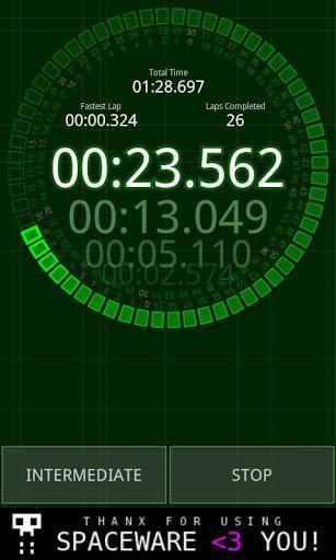 Micro Stopwatch - Imagem 2 do software