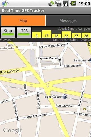Real Time GPS Tracker - Imagem 1 do software