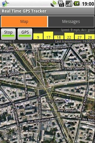 Real Time GPS Tracker - Imagem 2 do software
